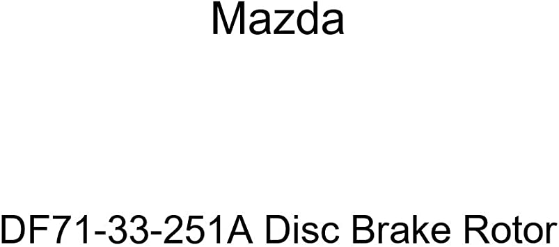 Mazda DF71-33-251A Disc Brake Rotor