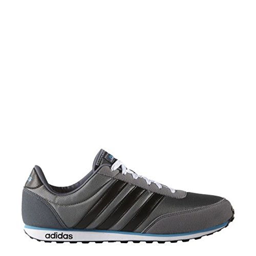 ADIDAS Sneaker Herren V-Racer F99393 Grau (Grau-Schwarz)