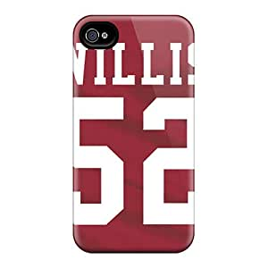 Great Hard Cell-phone Case For Iphone 6plus (CWe7018ynex) Allow Personal Design Realistic San Francisco 49ers Skin