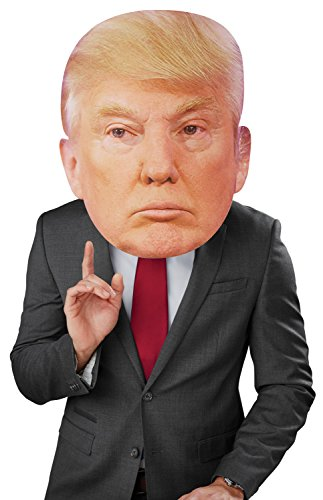 Bobble Hedz Donald Trump Mask (Celebrity Halloween Dress Up Games)