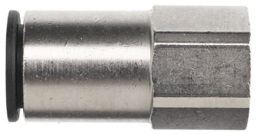 Brennan PCNY2405-04-04 PBT Push-to-Connect Tube Fitting, Adapter, 1/4