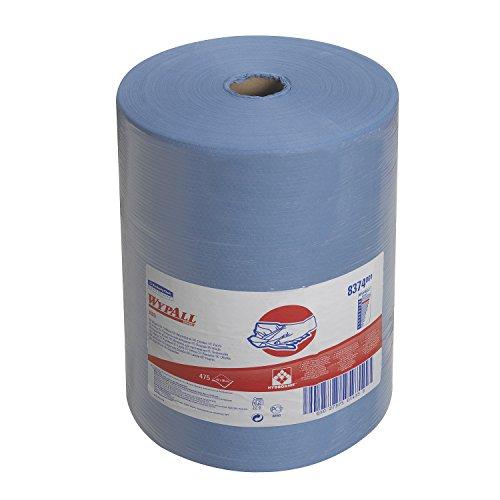 WypAll* X80-Tücher 8374 – 1 große Rolle mit 475 blauen, 1-lagigen Tüchern