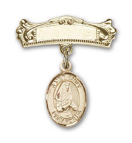 Icecarats Or Bijoux De Créateurs Rempli R. Émilie De Vialar Charme Broches Badge Arc 7/8 X 3/4