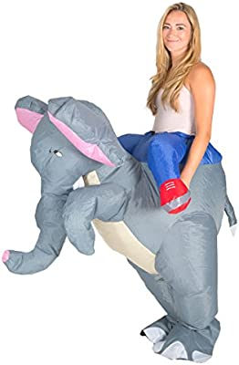Bodysocks® Disfraz Hinchable de Elefante Adulto: Amazon.es ...