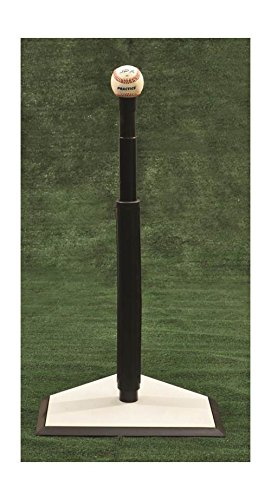 Deluxe Batting Tee in Black by Jaypro Sports