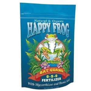 FoxFarm FX14056 FoxFarm Happy Frog High Phosphate Bat Guano Fertilizer