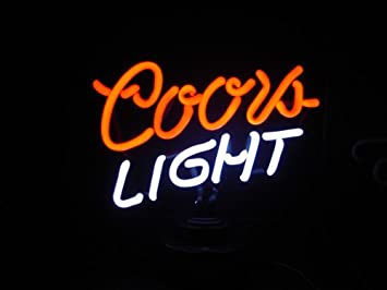 Amazon coors light neon sign everything else coors light neon sign mozeypictures Gallery