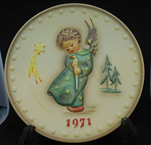 Angel Collectible Plate - Hummel 1971 GOEBEL Heavenly Angel Annual Plate # 264