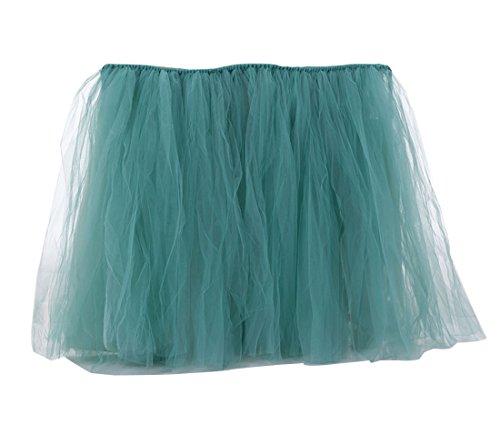 d'anniversaire Table Mariage Dcorations Vert Dcoration Jupe de Tulle Table LaoZan de Tutu pour Fte Fte en 61Yq1