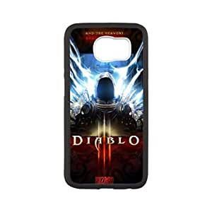 Samsung Galaxy S6 Cell Phone Case White Diablo Phone Case Cover DIY Back CZOIEQWMXN1336