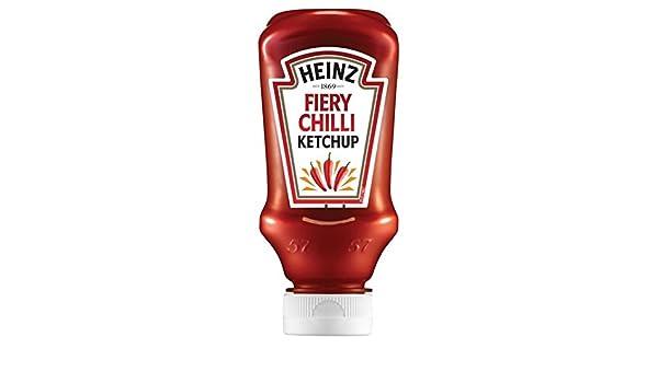 Heinz Tomato Ketchup con Fiery Chilli 255g: Amazon.es: Alimentación y bebidas