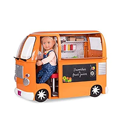 Our Generation Doll Food Truck Deluxe Accessory Set: Toys & Games
