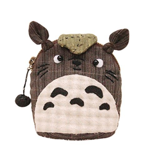 Totoro Childhood Memory Home Sewing Purse Kit Kid Change Keeping Bag Gift (Small)