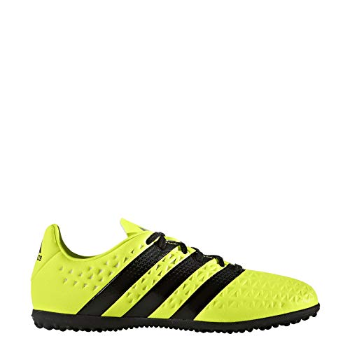 adidas Ace 16.3 Astro Turf Football Trainers Juniors Yellow/Black Soccer Shoes (UK5) (EU38) (US5.5)