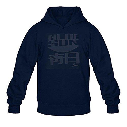 Men's Serenity Firefly Blue Sun Logo Hoodie -