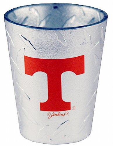 (NCAA Tennessee Volunteers Shotglass, Diamond Plate)