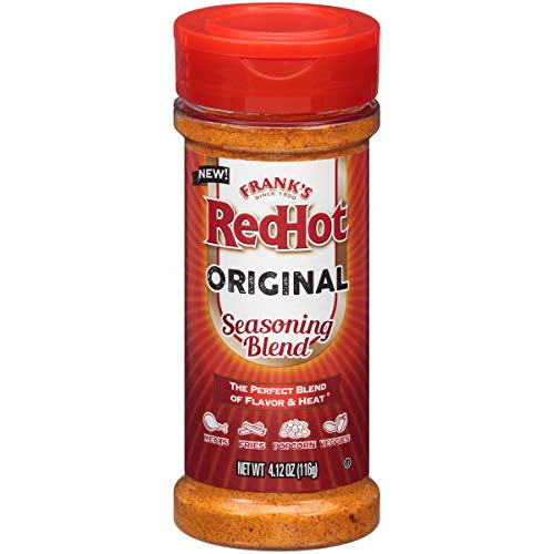 Hot Wing Pizza - Frank's RedHot Original Seasoning Blend (Hot Sauce Powder) 4.12 oz