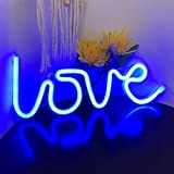 Love Neon Sign for Wall Decor,USB or Battery Decor