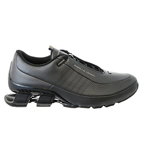 Porsche Design M Bounce S4 Leather II Fashion Running Sneaker Shoe - Black/Black / Black - Mens - ()