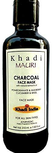 Buy Khadi Charcoal Face Mask - Provides Clear & Glowing Skin ...