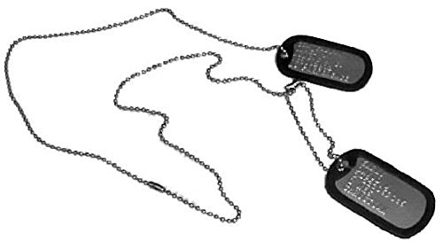 Maverick Halloween Costume (Top Gun Dog Tags for Halloween Costumes - MAVERICK)