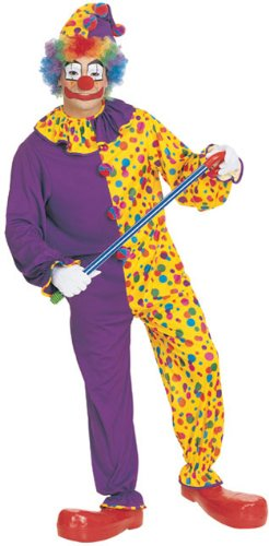 Smiley the Clown Adult Costume