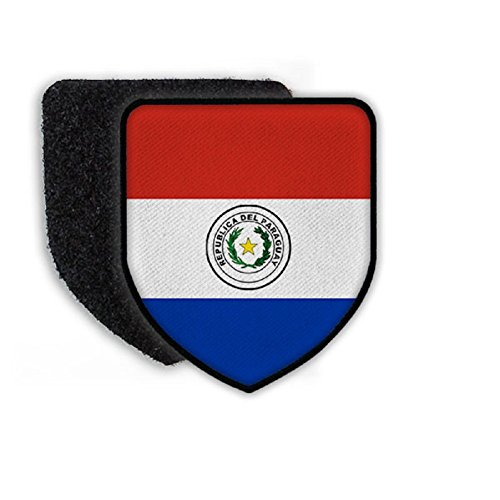 Flag of Paraguay country national coat of arms - Patch/Patches