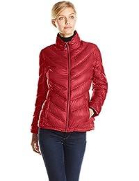 Women's Lightweight Chevron Packable Jacket