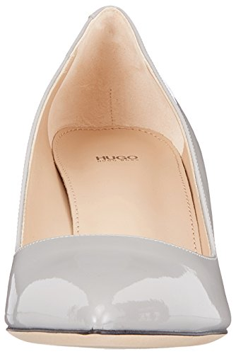 Pumps Pastel Grey HUGO Toe Women's Light p 051 Hellia Closed Grey q1wXfaw
