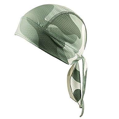 Beanie Skull Cap Quick Dry Adjustable Stretch Head Scarf Wrap Bandana Men Women