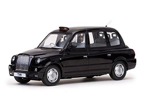Black Cabs London (2007 TX4 London Taxi Cab Black Platinum Edition 1/18 by Sunstar 5251)