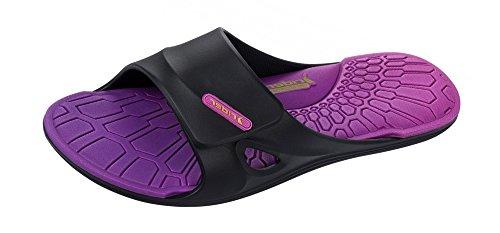 Rider Daytona III Slides Flip flops / sandalias de las mujeres Black