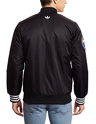 Adidas Labels SST JK–Tuta per uomo, colore: nero