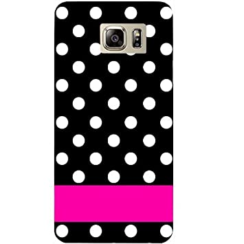 Casotec White Dots Pattern Design Hard Back Case Cover for Samsung Galaxy Note 5 Cases   Covers
