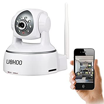 Amazon.com : IP Camera, Uokoo 720P WiFi Security Camera Internet ...