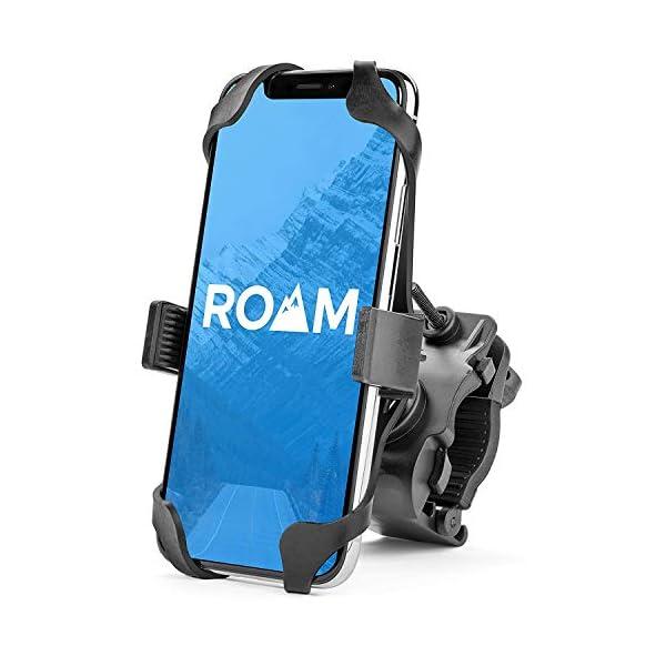 Roam Universal Premium Bike Phone Mount for Motorcycle – Bike Handlebars, Adjustable,...