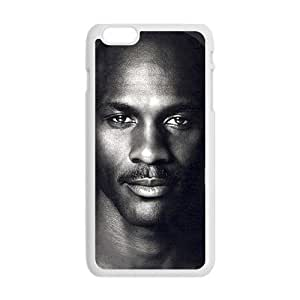 Cool Painting michael jordan black and white Phone Case for iphone 6