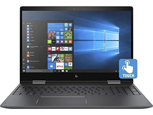 HP ENVY x360 15z Convertible 2-in-1 Laptop: AMD Ryzen 5 2500U 8GB RAM 15.6-inch Full HD Touch Display RX Vega 8 Graphics 1TB Hard Drive