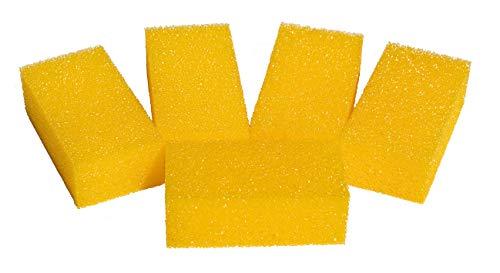 Joerns spons voor poetssteen – reservespons, spoelspons – set van 10 stuks, grootte. 11 x 4 x 6 cm.