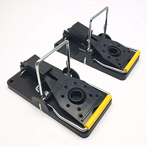 6Pcs Mouse Catcher Set Plastic Alloy Mice Rat Trap Reusable Rodent Snap Traps FP8   AS Show