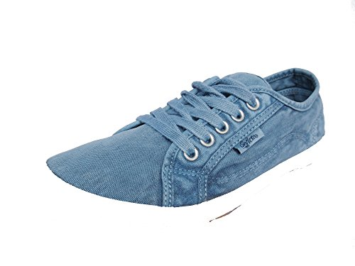 Donna Sneaker 40 Onfire Washed Blue zB4Agx