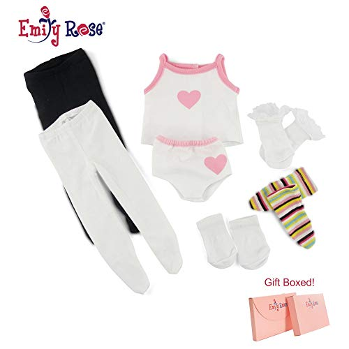 Emily Rose Doll Clothes Underwear, Tights & Socks | Fits American Girl Dolls