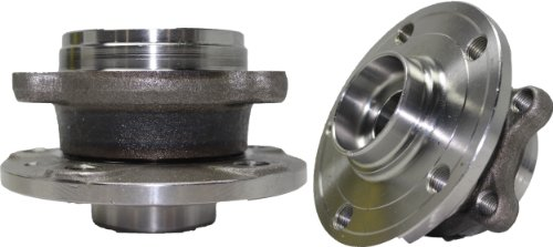 Brand New (Both) Front Wheel Hub and Bearing Assembly 2005-13 Audi, Volkswagen 5 Lug (Pair) 513253 (Volkswagen Jetta Wheel Bearing)
