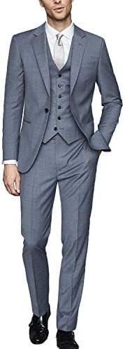 メンズスーツ 3ピース 大きいサイズ ビジネス 一つボタン スリム オシャレ 通勤 結婚式 礼服 就職スーツ