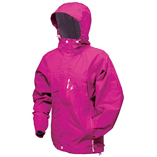 Frogg Toggs Women's Java Toadz 2.5 Jacket, Pink, Size X-Large