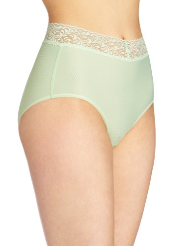 ExOfficio Women's Give-N-Go Lacy Full Cut Brief, Mint, X-Small