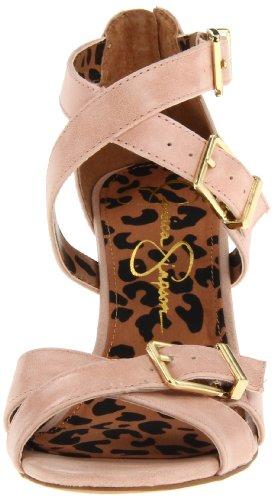 Eugenias Sandales Pink Pale femme Pale Rose Simpson Blanc pour Pink Jessica qx5wUF4nv