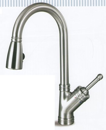 Hamat 3-3569OB Ergo Classic Traditional Pull-Out Kitchen Faucet ...