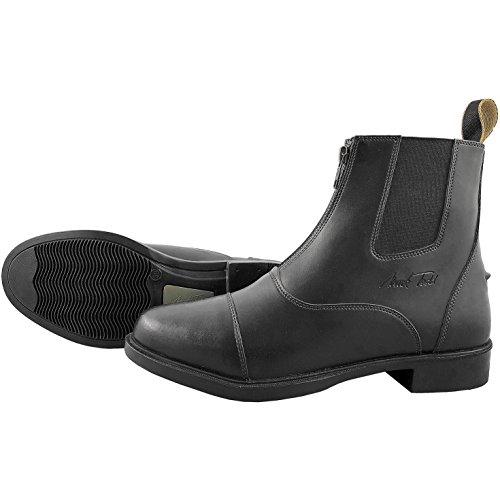 Synthetic Boots Black Front Jodhpur Mark Todd Zip ZwnqqU5