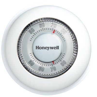 Honeywell Round Mechanical Thermostat Heat Only -